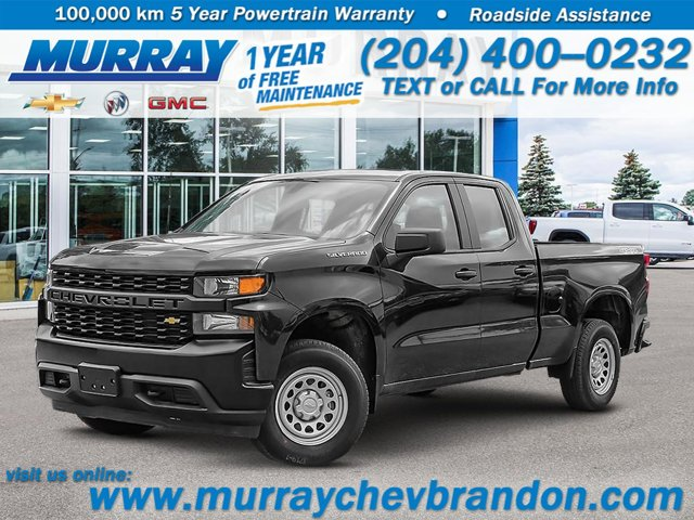 2021 Chevrolet Silverado 1500 Work Truck 4WD Double Cab 147″ Work Truck Gas V8 5.3L/325 [1]
