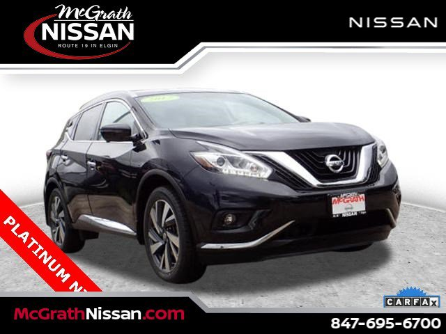 2017 Nissan Murano Platinum Platinum AWD Regular Unleaded V-6 3.5 L/213 [13]