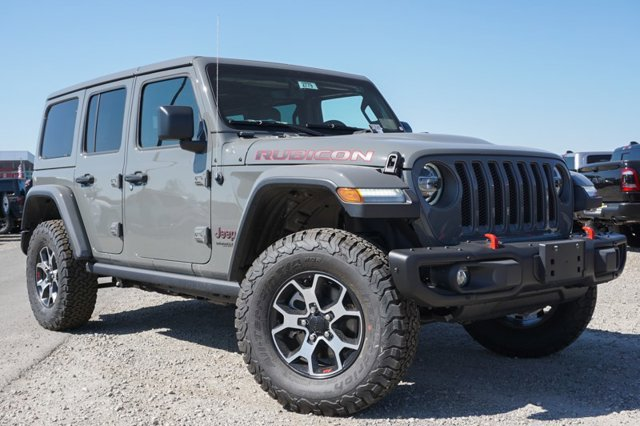 New 2020 Jeep Wrangler Unlimited Rubicon 4x4