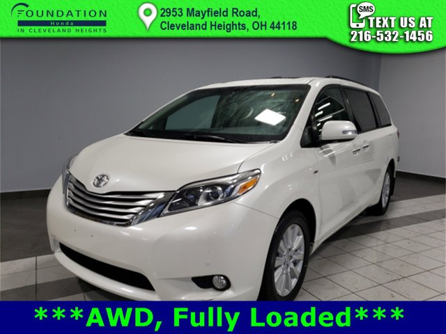 Used 2017 Toyota Sienna in Cleveland Heights, OH