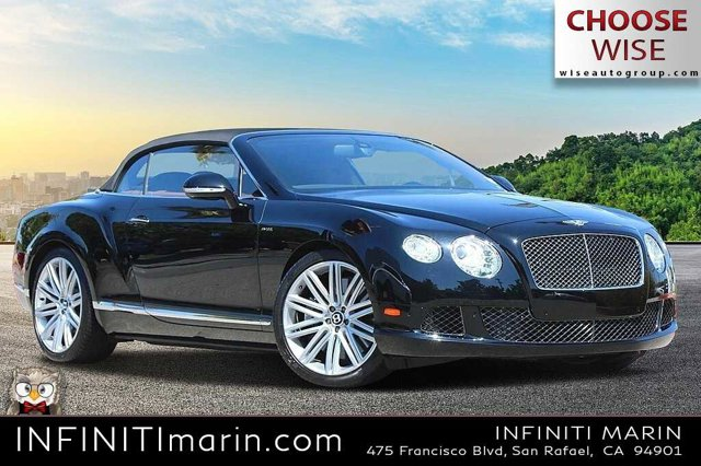2014 Bentley Continental GT Speed 2dr Conv Twin Turbo Premium Unleaded W-12 6.0 L/366 [1]