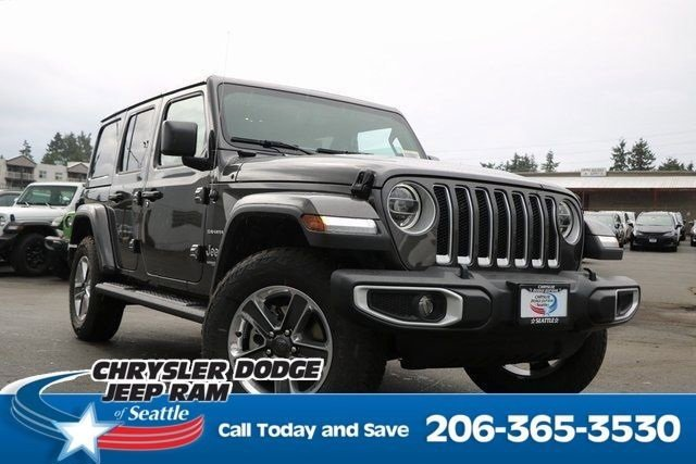 New 2020 Jeep Wrangler Unlimited in Seattle, WA