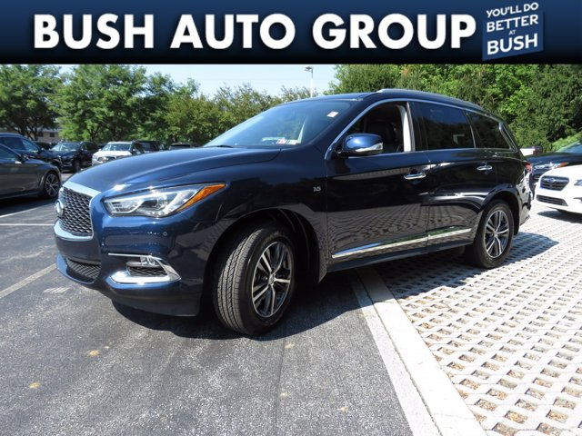 2017 INFINITI QX60 QX60 AWD Leather Nav Sunroof Back up Camera AWD Premium Unleaded V-6 3.5 L/213 [1]