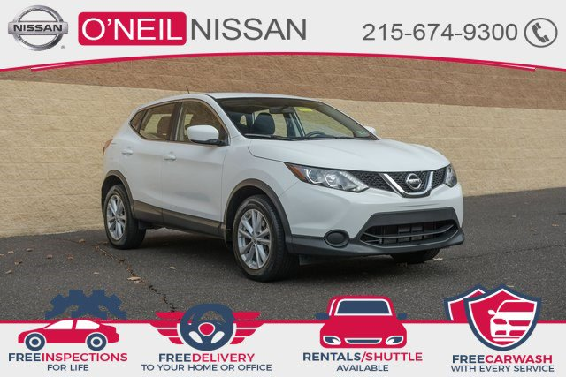 2017 Nissan Rogue Sport S AWD S Regular Unleaded I-4 2.0 L/122 [6]