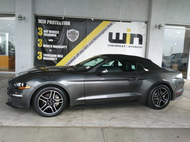 2019 Ford Mustang  Intercooled Turbo Premium Unleaded I-4 2.3 L/140 [1]