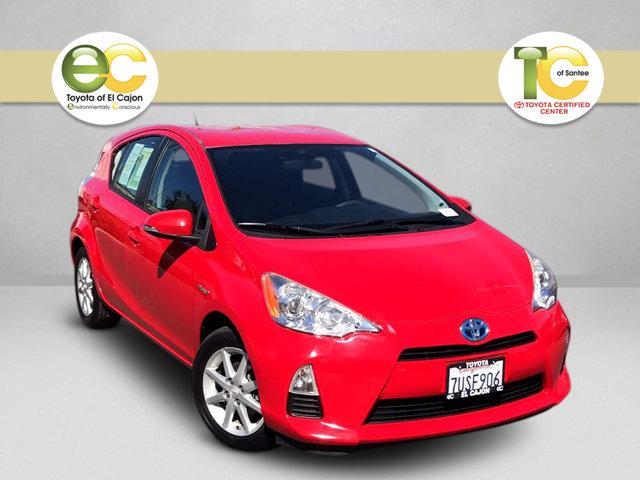 Used 2013 Toyota Prius C in Santee, CA