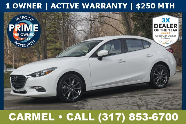 Used 2018 Mazda Mazda3 4-Door in Indianapolis, IN