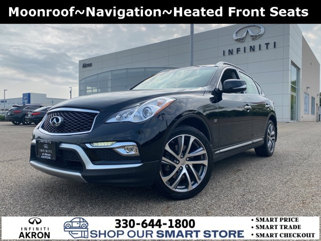 2017 INFINITI QX50 Premium Plus Deluxe Touring Tech AWD Navigation AWD Premium Unleaded V-6 3.7 L/226 [0]