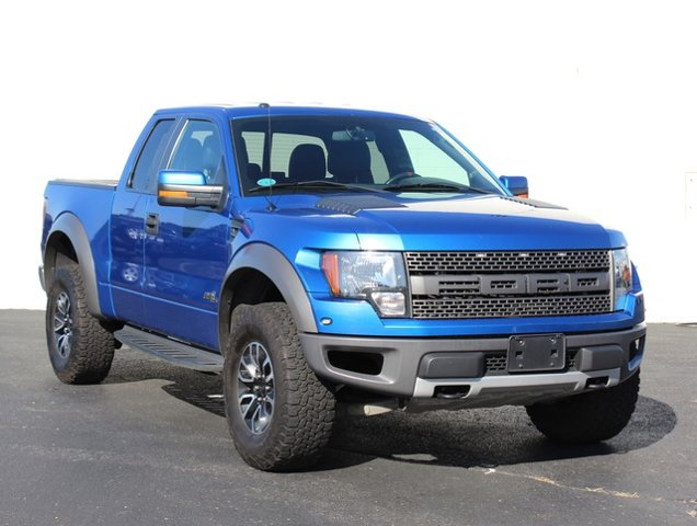 2013 Ford F-150 SVT Raptor LockingLimited Slip Differential Four Wheel Drive Tow Hitch Tow Hook