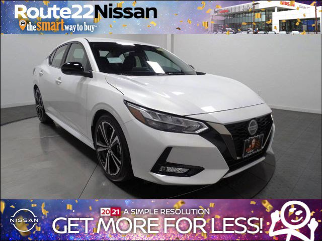 2020 Nissan Sentra SR SR CVT Regular Unleaded I-4 2.0 L/122 [8]
