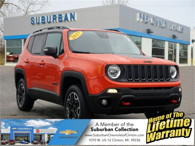 The 2017 Jeep Renegade Trailhawk photos