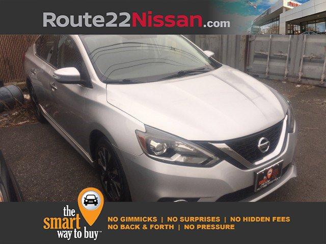 2017 Nissan Sentra SR SR CVT Regular Unleaded I-4 1.8 L/110 [8]