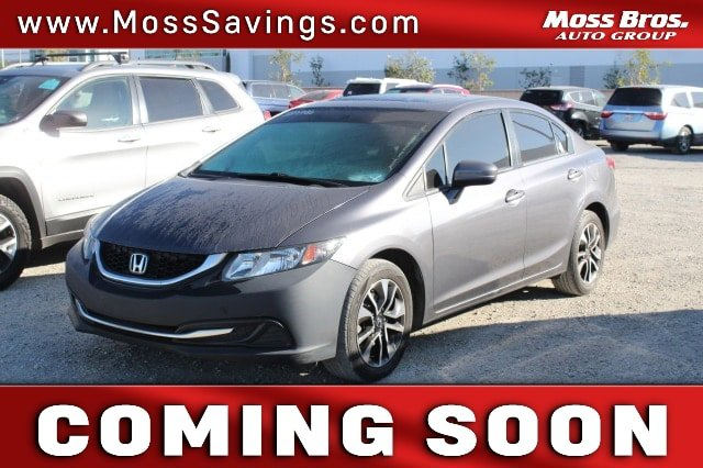 2015 Honda Civic Sedan EX 4dr CVT EX Regular Unleaded I-4 1.8 L/110 [4]
