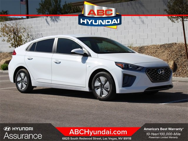 2020 Hyundai Ioniq Hybrid Blue Blue Hatchback Gas/Electric I-4 1.6 L/96 [11]