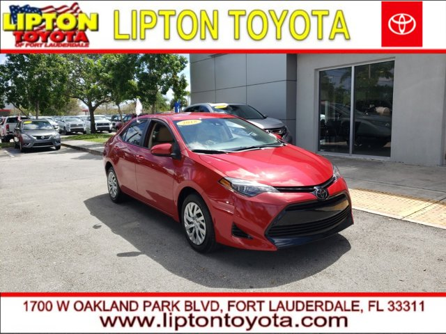 Used 2018 Toyota Corolla in Ft. Lauderdale, FL
