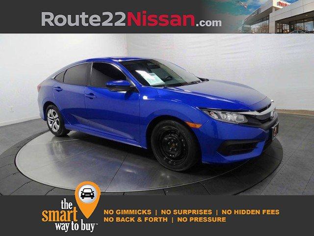 2018 Honda Civic Sedan LX LX Manual Regular Unleaded I-4 2.0 L/122 [0]