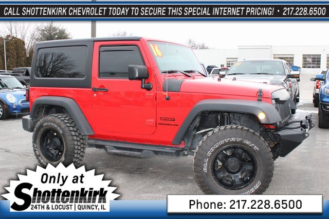 Used 2016 Jeep Wrangler in Quincy, IL