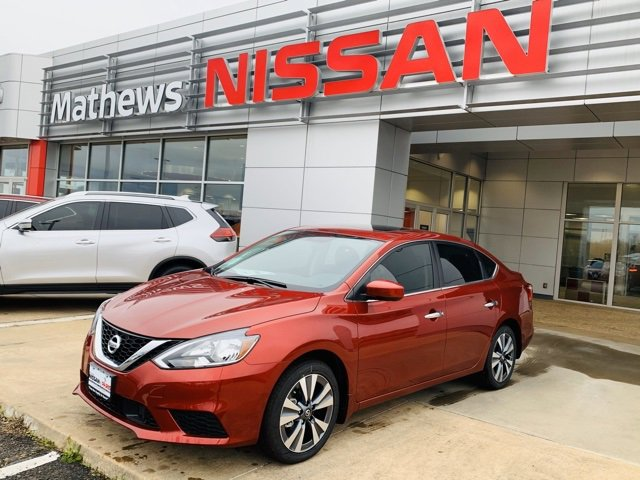 New 2019 Nissan Sentra in Paris, TX