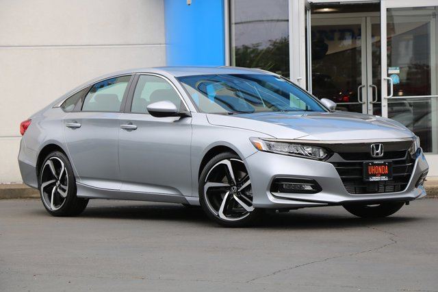 New 2019 Honda Accord Sedan Sport 1.5T CVT