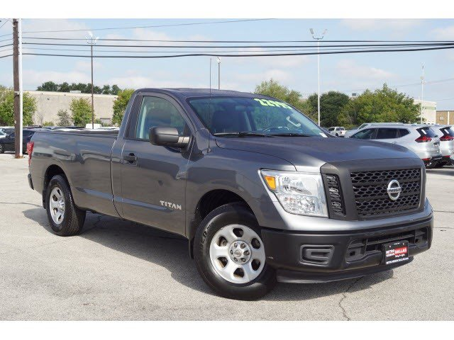 2017 Nissan Titan S 4x2 Single Cab S Regular Unleaded V-8 5.6 L/339 [0]