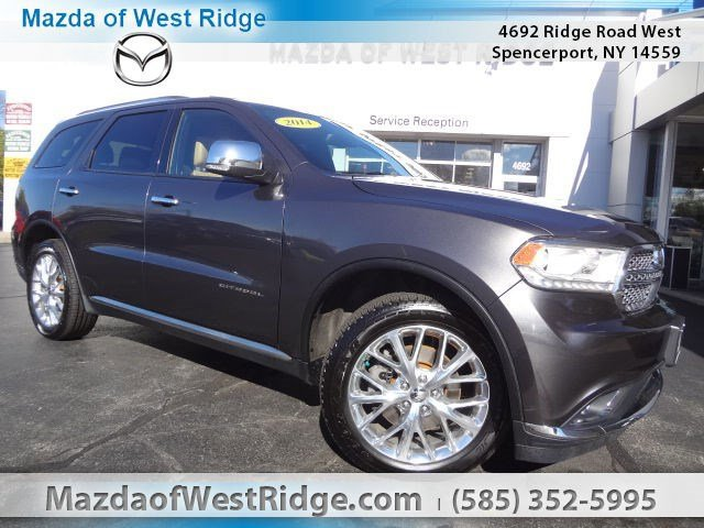2014 Dodge Durango at Transitowne Resale Center of Amherst