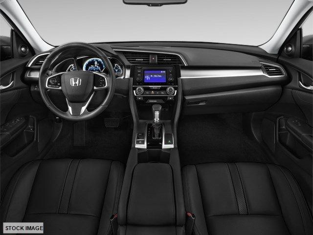 New 2017 Honda Civic Sedan LX CVT w-Honda Sensing