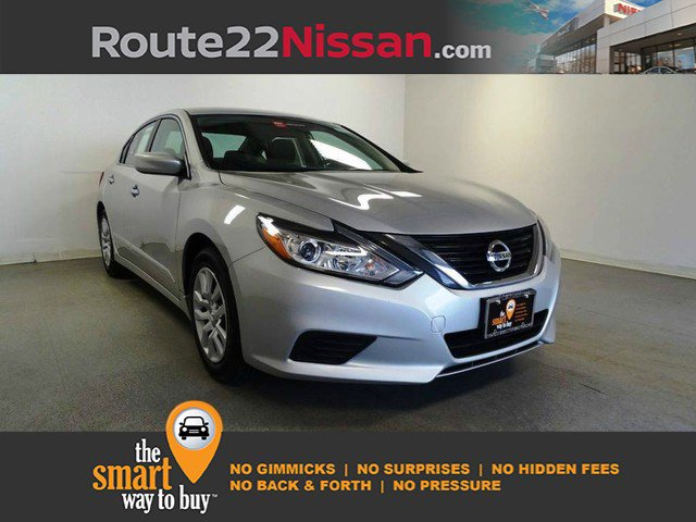 2017 Nissan Altima 2.5 S 2.5 S Sedan Regular Unleaded I-4 2.5 L/152 [7]