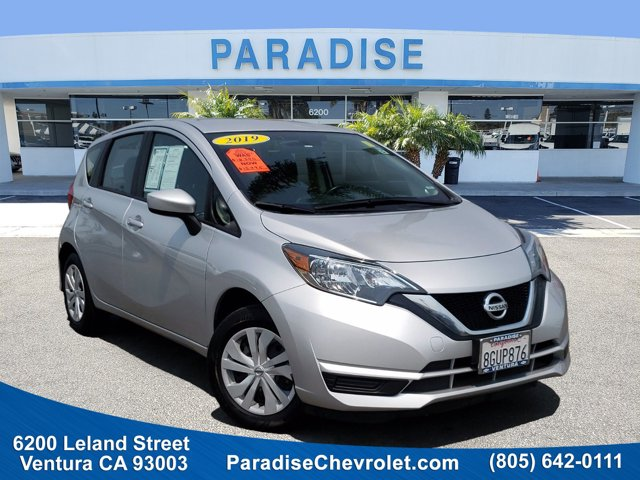 2019 Nissan Versa Note SV SV CVT Regular Unleaded I-4 1.6 L/98 [0]