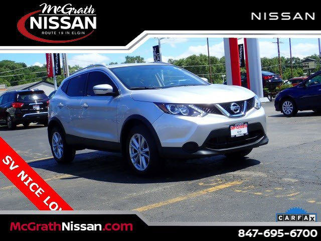 2017 Nissan Rogue Sport SV AWD SV Regular Unleaded I-4 2.0 L/122 [8]