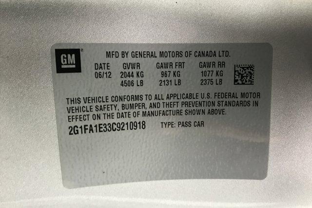 Used 2012 Chevrolet Camaro 2LS