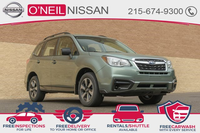 2017 Subaru Forester 2.5i 2.5i CVT Regular Unleaded H-4 2.5 L/152 [1]