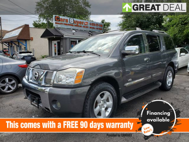 2007 Nissan Armada SE Sport Utility 4D LockingLimited Slip Differential Four Wheel Drive Tow Hoo
