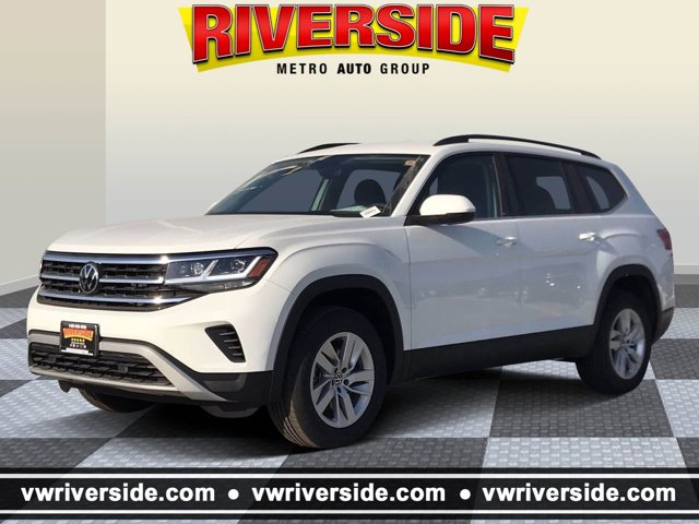 2021 Volkswagen Atlas 2.0T S 2.0T S 4MOTION *Ltd Avail* Intercooled Turbo Premium Unleaded I-4 2.0 L/121 [0]