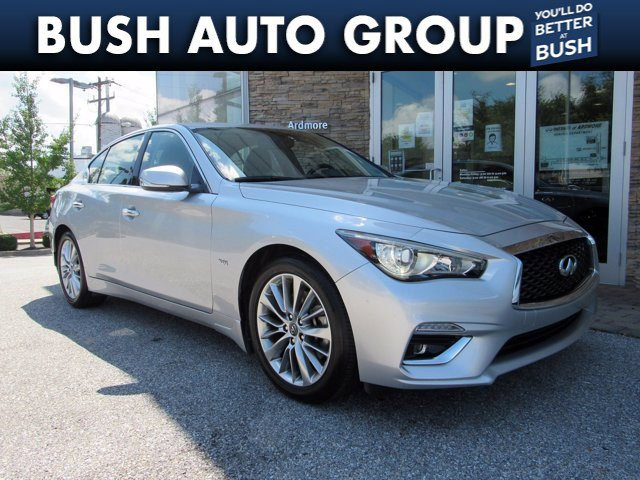 2018 INFINITI Q50 3.0t LUXE 3.0t LUXE AWD Twin Turbo Premium Unleaded V-6 3.0 L/183 [3]