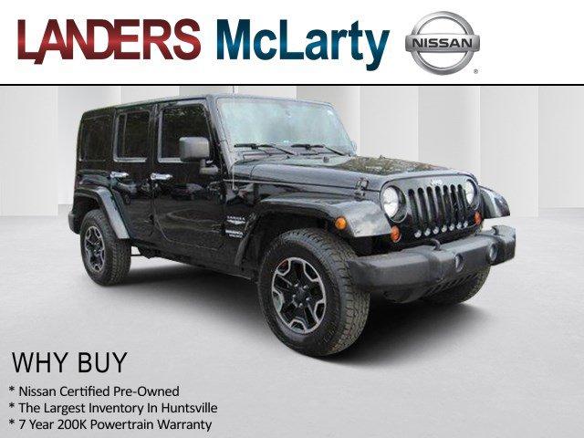 Used 2013 Jeep Wrangler Unlimited in Huntsville, AL