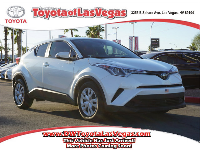 2019 Toyota C-HR LE LE FWD Regular Unleaded I-4 2.0 L/121 [3]