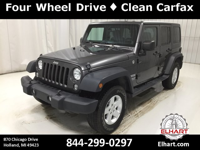 Used 2014 Jeep Wrangler Unlimited in Holland, MI