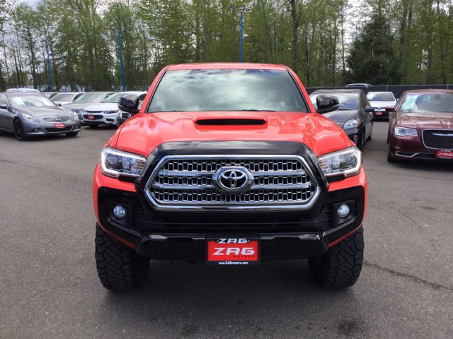 Used 2016 Toyota Tacoma TRD Off-Road 4WD Double Cab V6 AT TRD Off Road