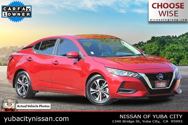 2020 Nissan Sentra SV SV CVT Regular Unleaded I-4 2.0 L/122 [1]
