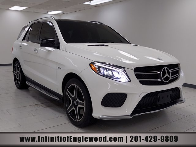 2017 Mercedes-Benz GLE AMG GLE 43 AMG GLE 43 4MATIC SUV Twin Turbo Premium Unleaded V-6 3.0 L/183 [12]