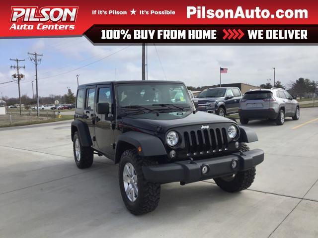 Used 2017 Jeep Wrangler Unlimited in Mattoon, IL