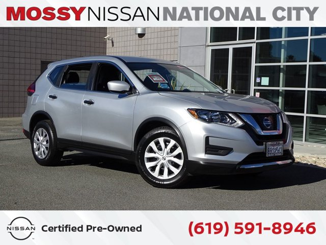 2017 Nissan Rogue S 2017.5 FWD S Regular Unleaded I-4 2.5 L/152 [1]
