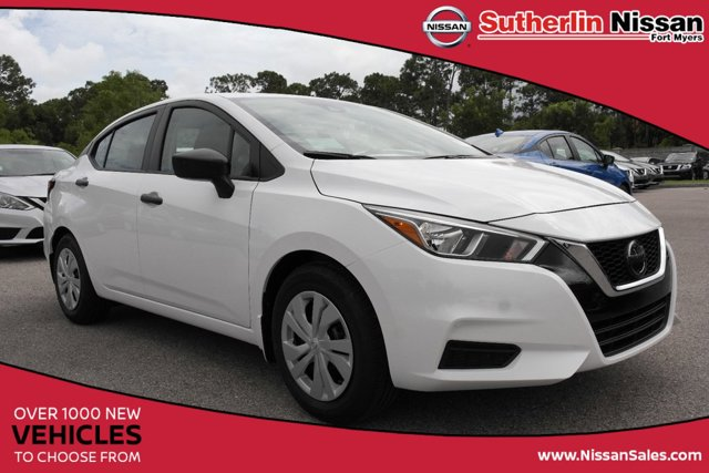 New 2020 Nissan Versa in Fort Myers, FL