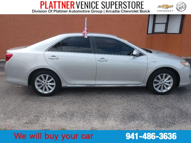 Used 2013 Toyota Camry Hybrid in Venice, FL