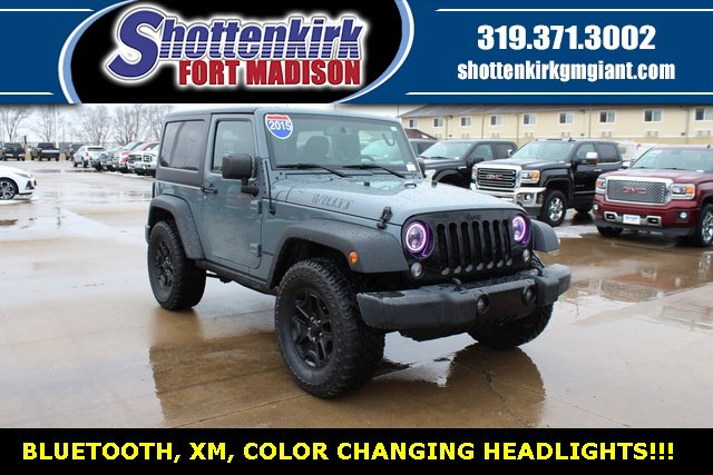 Used 2015 Jeep Wrangler in Fort Madison, IA
