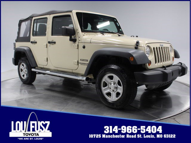 Used 2011 Jeep Wrangler Unlimited in St. Louis, MO