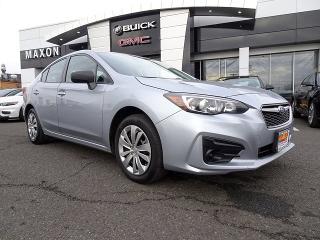 2017 Subaru Impreza  BLACK  CLOTH UPHOLSTERY ICE SILVER METALLIC All Wheel Drive Power Steering