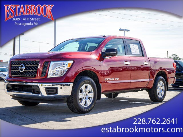 Used 2019 Nissan Titan in Pascagoula, MS