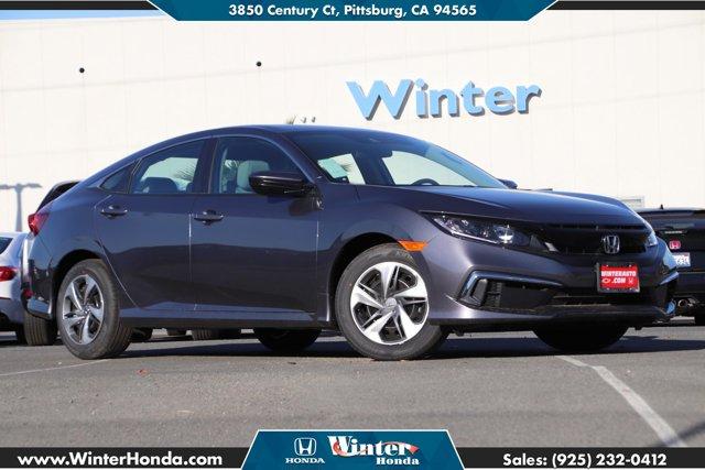 2020 Honda Civic Sedan LX LX CVT Regular Unleaded I-4 2.0 L/122 [10]