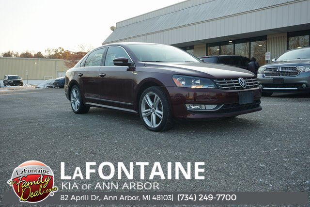 2014 Volkswagen Passat TDI SE Turbocharged Front Wheel Drive Power Steering ABS 4-Wheel Disc Br